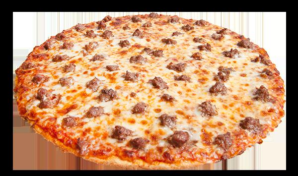 Single Topping Hamburger Pizza