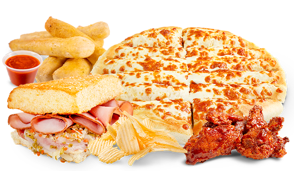 Shareables - Breadsticks - Cheese Sticks, Muffuletta, Chips, Pizza Sauce, Wings